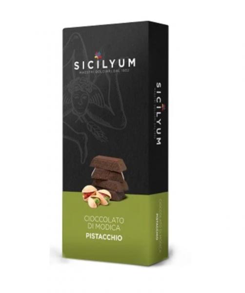 Ciocolata Modica cu fistic 75 g [0]
