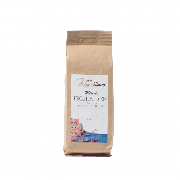 Cafea  macinata Ischia Dek decofeinizata 250 g [0]
