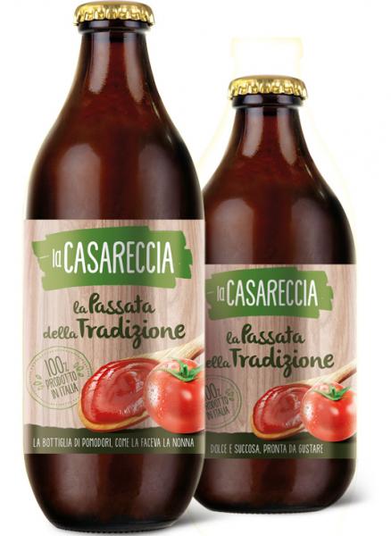 Sos de rosii traditional, Casareccia, 660 g [0]