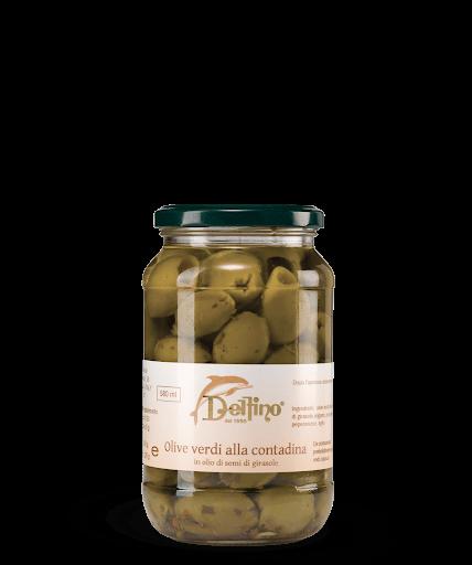 Masline verzi cu oregano 314 ml [0]
