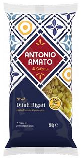 Paste Ditali Rigati N.48, 500 g [0]