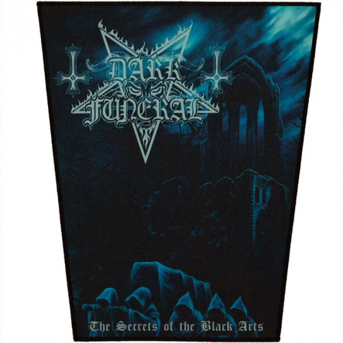 Back Patch Dark Funeral - The Secrets of the Black Arts 0