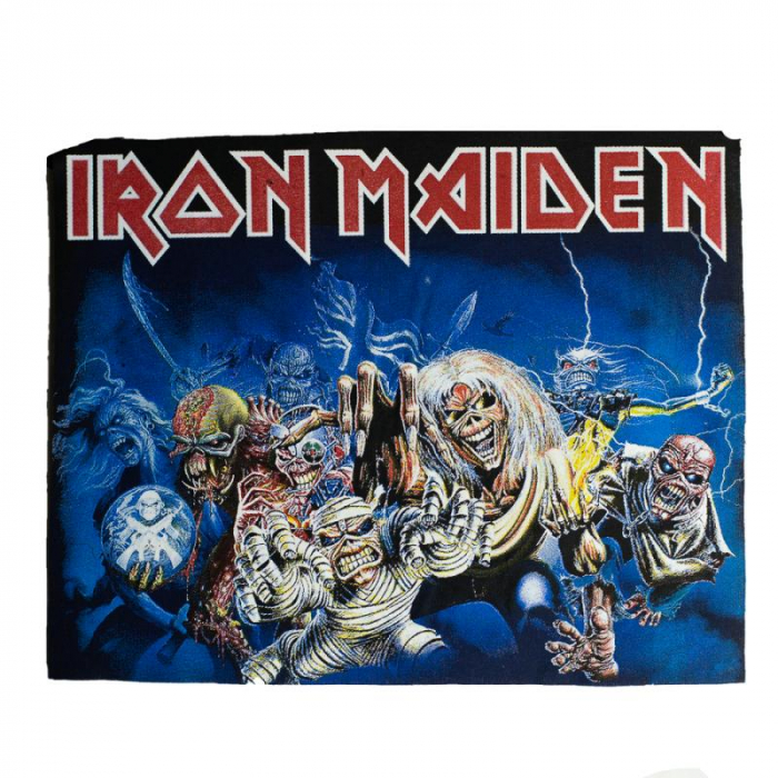 Back Patch Iron Maiden - Eddie Faces 0