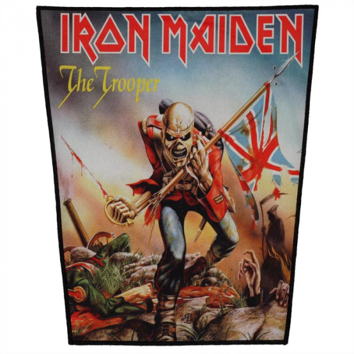 Back Patch Iron Maiden - The Trooper [0]
