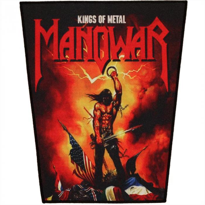 Back Patch Manowar - Kings of Metal [0]