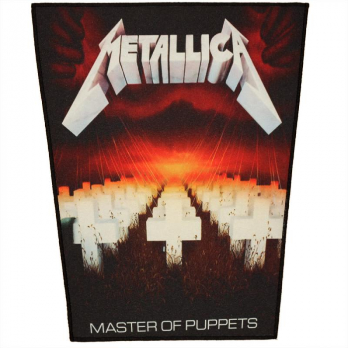Back Patch Metallica - Master of Puppets [0]