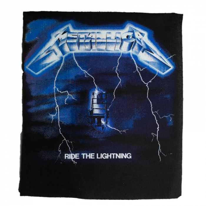 Back Patch Metallica - Ride the lightning 0