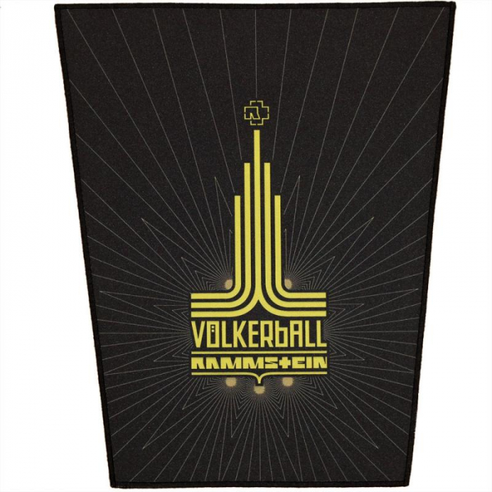 Back Patch Rammstein - Volkerball 0