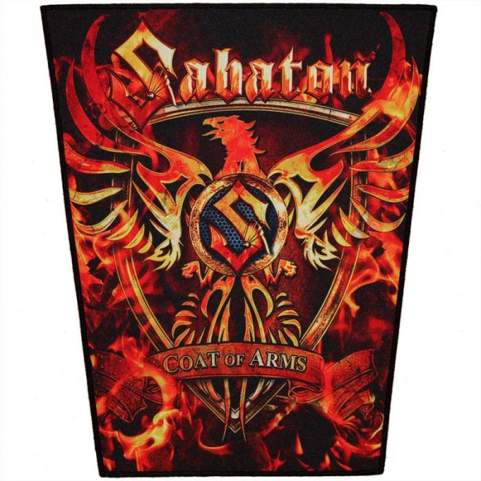 Back Patch Sabaton - Coat Of Arms [0]