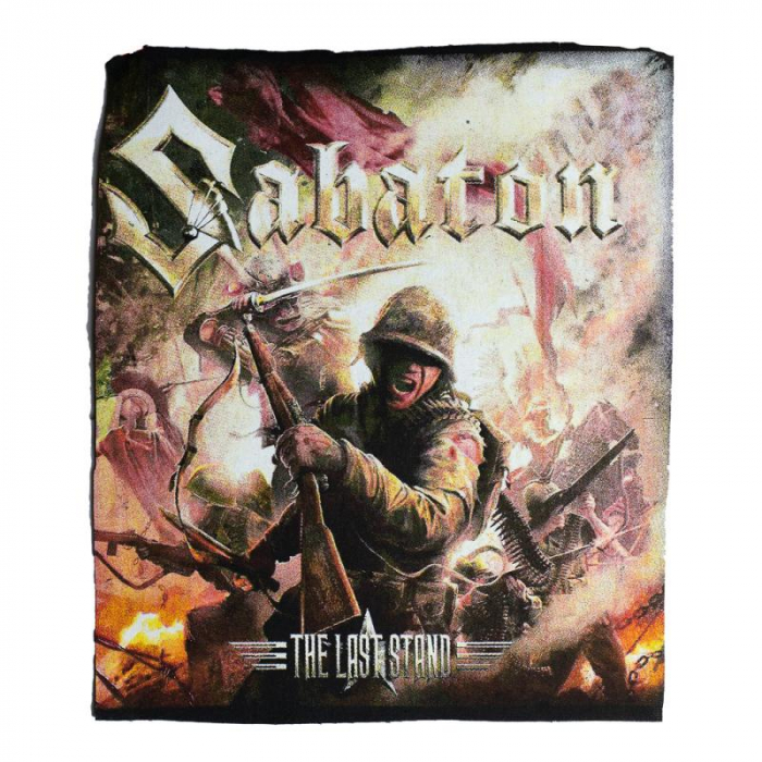 Back Patch Sabaton - The Last Stand 0
