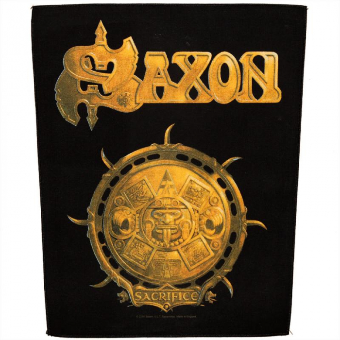 Back Patch Saxon - Sacrifice 0
