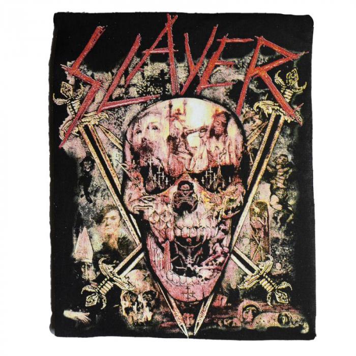 Back Patch Slayer - South of Heaven 0