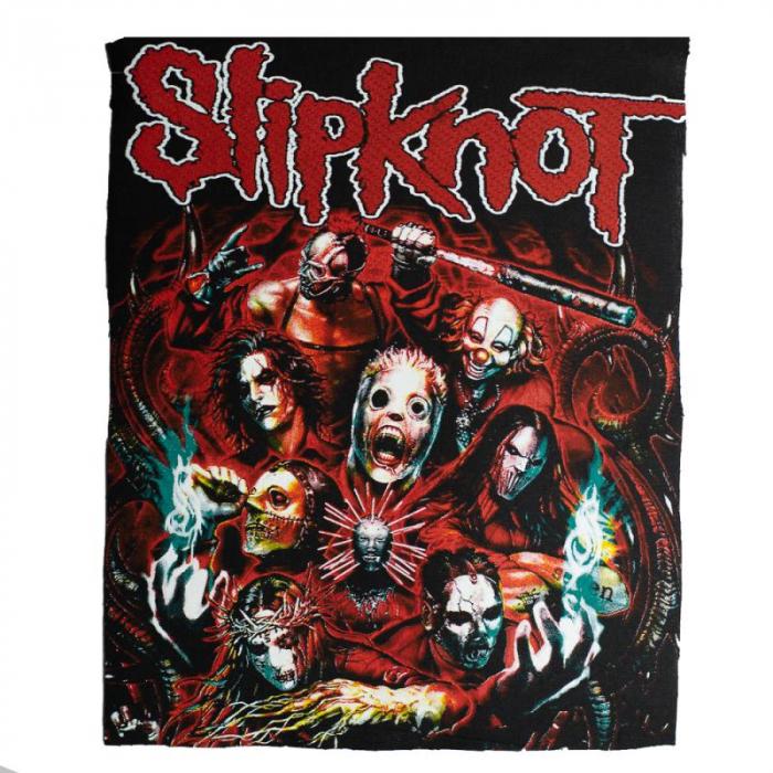 Back Patch Slipknot - Masks 0