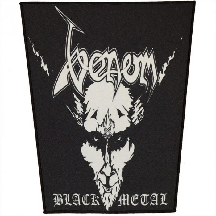 Back Patch Venom - Black Metal 0