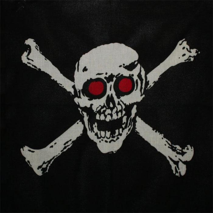 Bandana Skull and Bones - Red eyes [0]