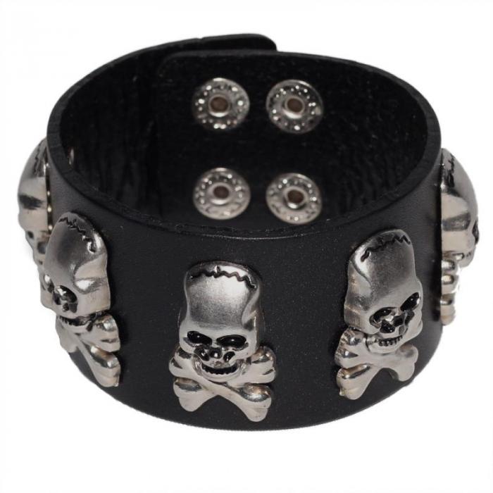 Bratara lata Skull&Bones 0