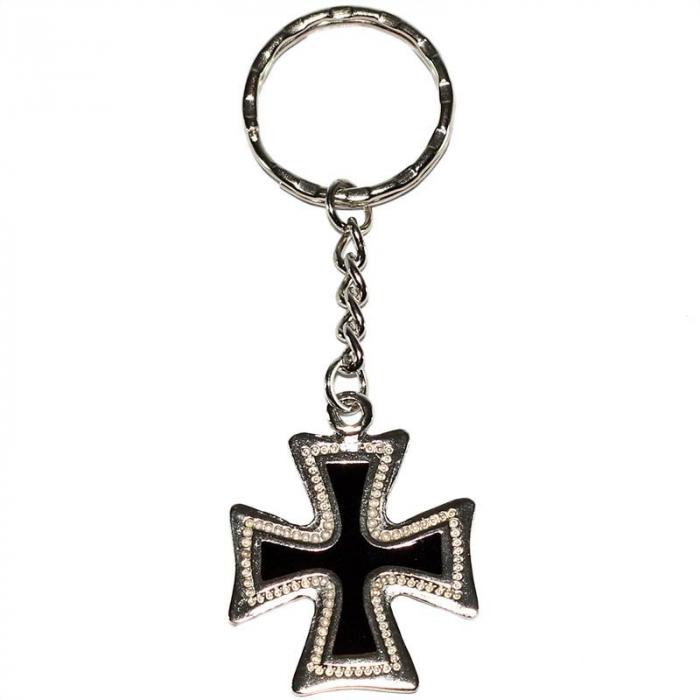 Breloc metalic chei - Iron Cross [0]