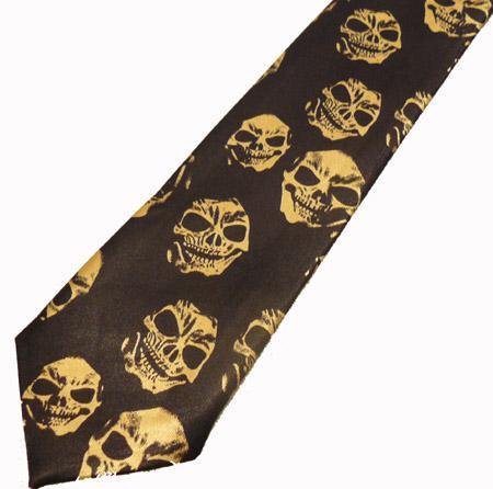 Cravata - Skull Tie-036 1