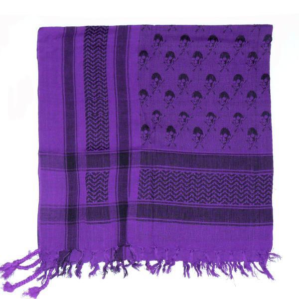 Esarfa Cranii Black Purple II 1