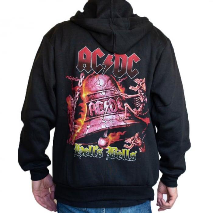 Hanorac AC/DC cu fermoar -Hells Bells 0