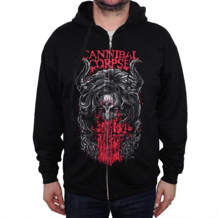 Hanorac Cannibal Corpse cu fermoar -3rd Eye 0