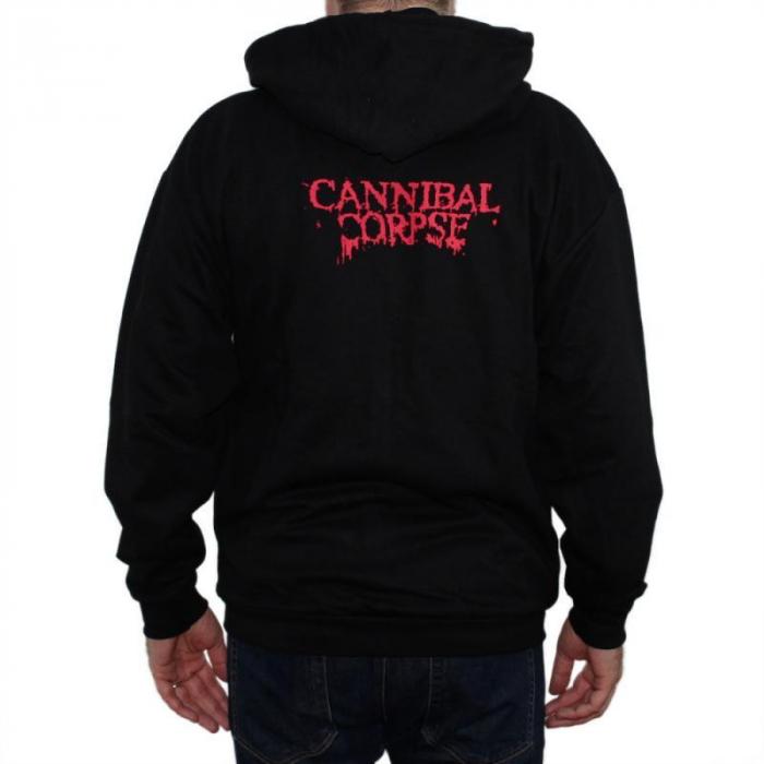 Hanorac Cannibal Corpse cu fermoar -3rd Eye 1