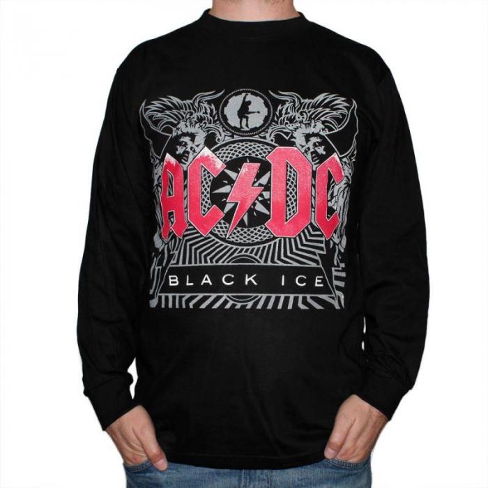 Long Sleeve AC DC - Black Ice 0