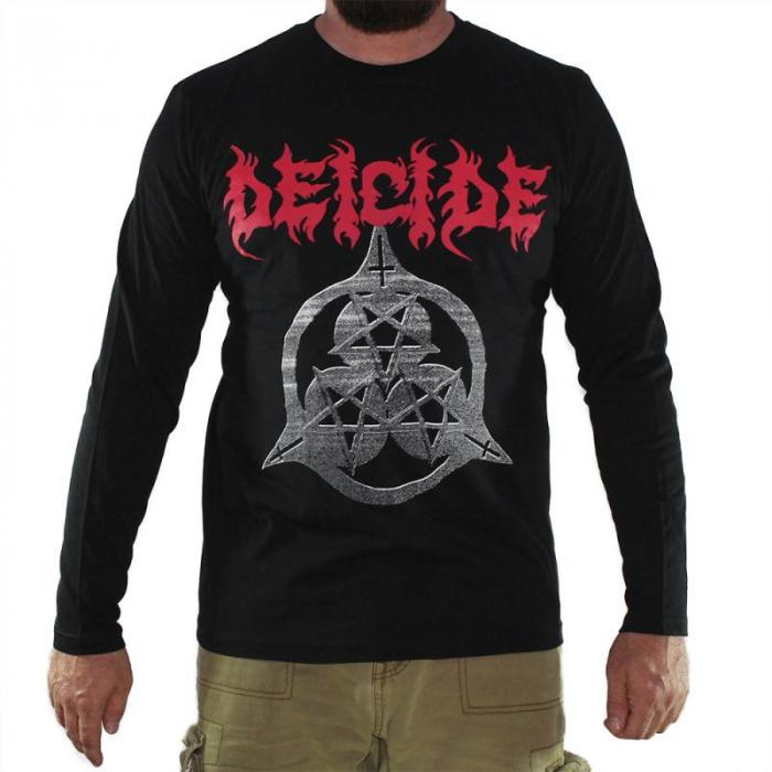 Long Sleeve Deicide - Three Pentagrams 0