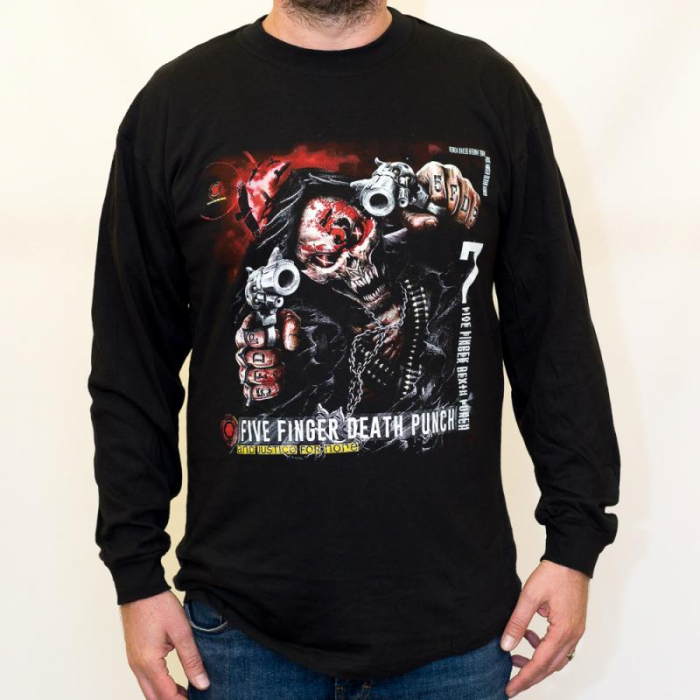 Long Sleeve Five Finger Death Punch - and Justice 0