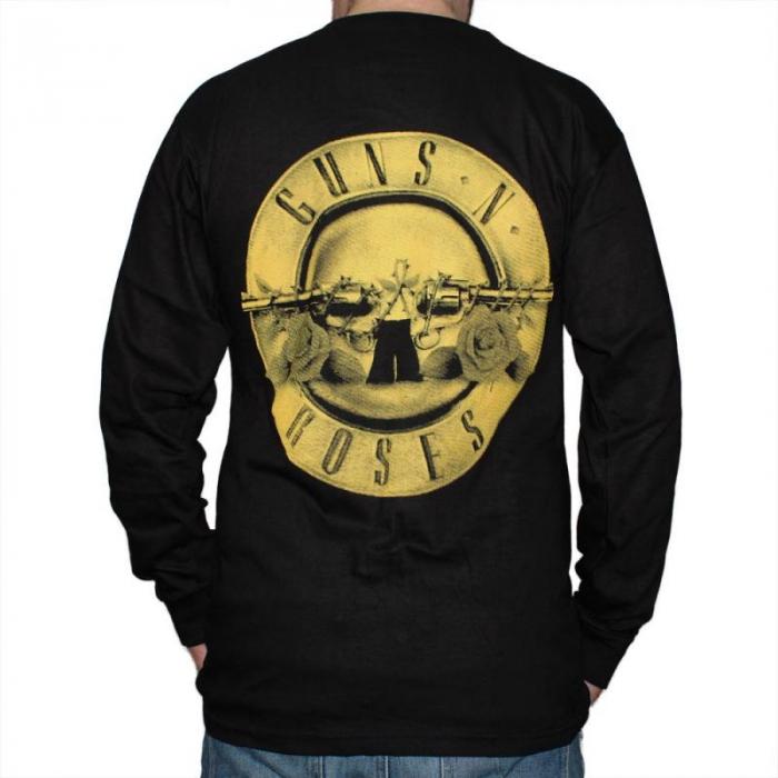 Long Sleeve Guns N Roses - Logo 1