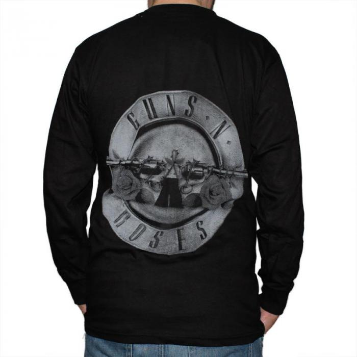 Long Sleeve Guns N Roses - Logo Band 1