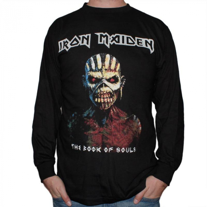Long Sleeve Iron Maiden - The Book of Souls 0