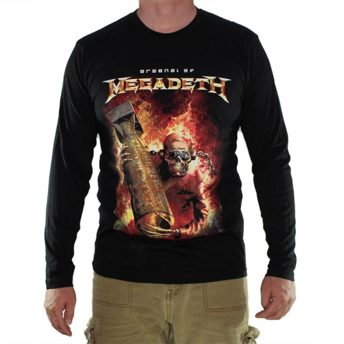 Long Sleeve Megadeth - Arsenal 0