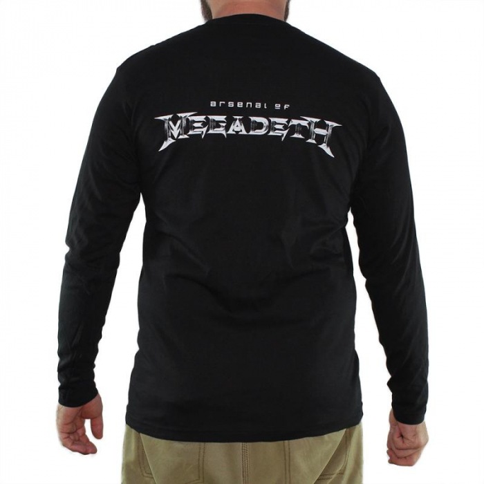 Long Sleeve Megadeth - Arsenal 1