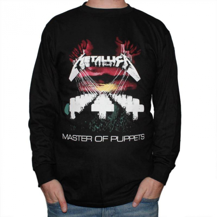 Long Sleeve Metallica - Master of Puppets 0
