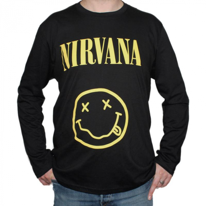 Long Sleeve Nirvana - Smiley [0]