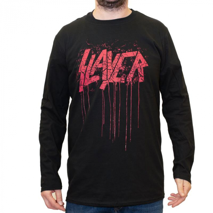 Long Sleeve Slayer - Red Logo 0