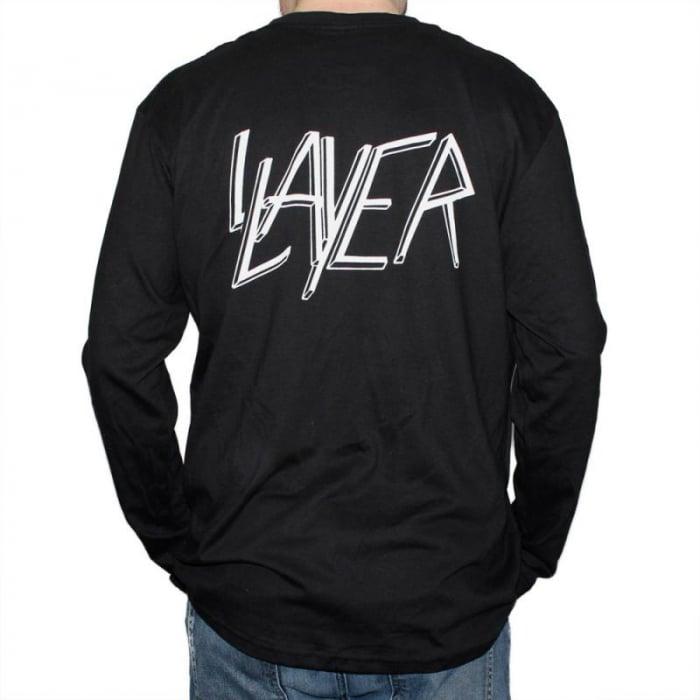 Long Sleeve Slayer - Skull & Bones 1