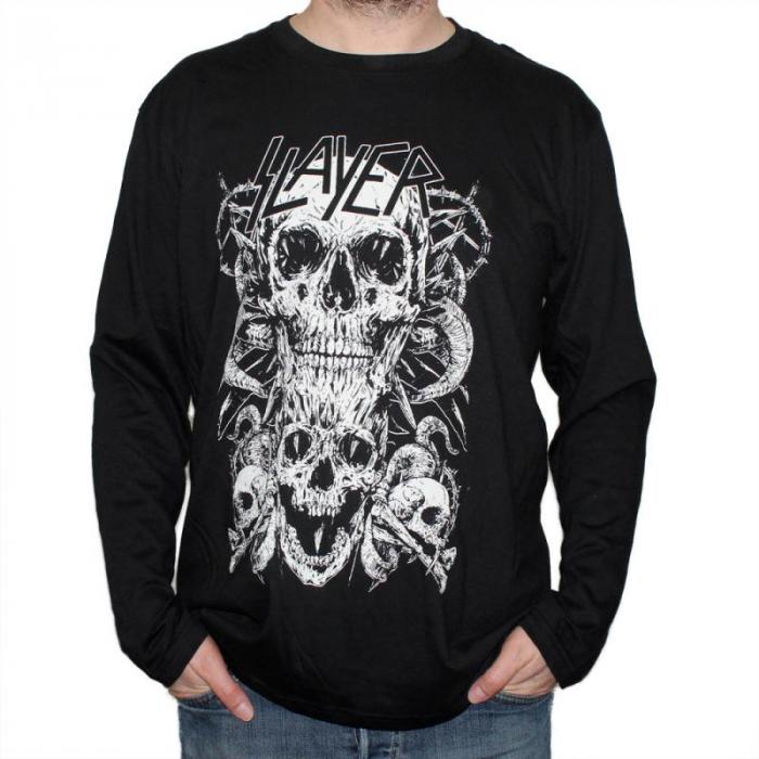 Long Sleeve Slayer - Skull & Bones 0