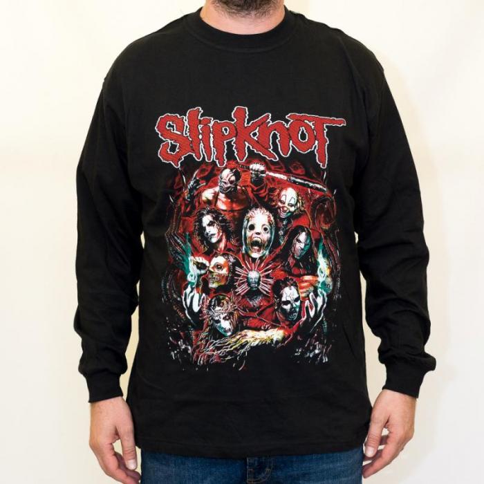 Long Sleeve Slipknot - Masks 0