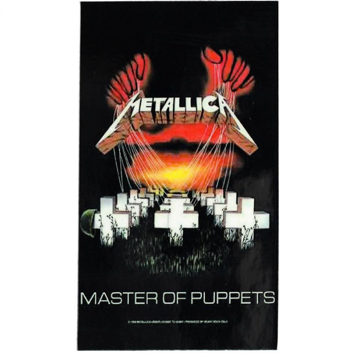 Magnet Metallica - Master of Puppets 0
