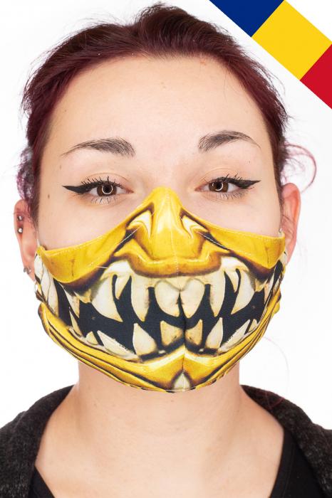 Masca bumbac cu filtru - Smile 0