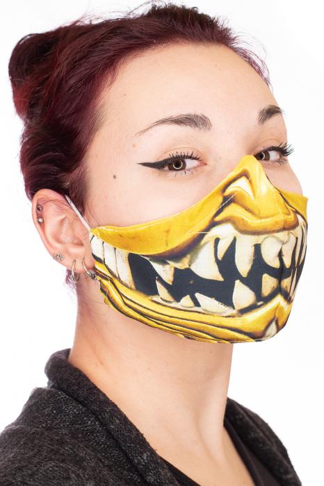 Masca bumbac cu filtru - Smile 1