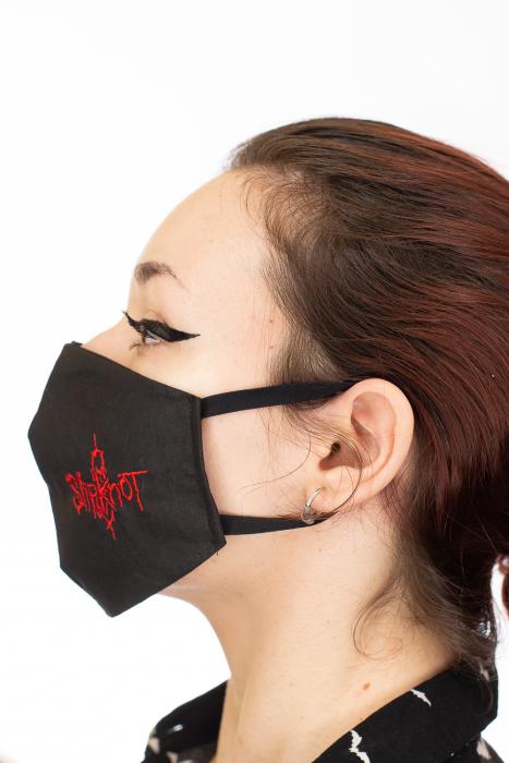 Masca rock brodata - Slipknot 2