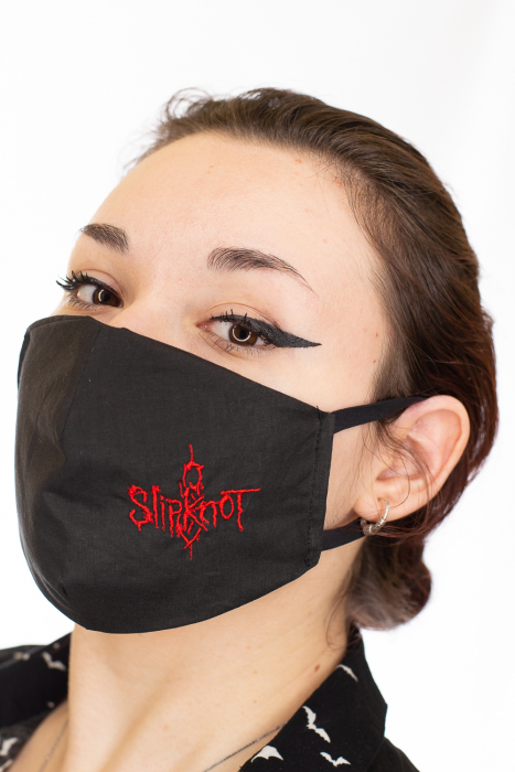 Masca rock brodata - Slipknot 1