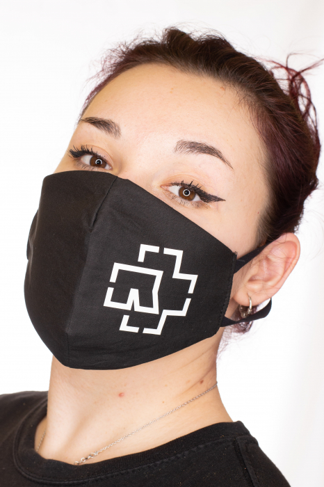 Masca rock printata - Rammstein 1