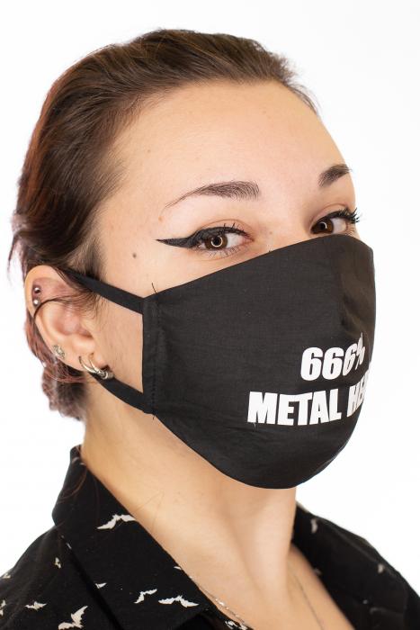 Masca Rock print - 666% Metal Head 1