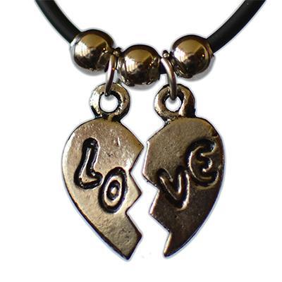 Medalion Broken Heart - Love 0