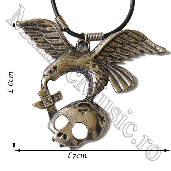 Medalion Eagle Skull Cross  [0]