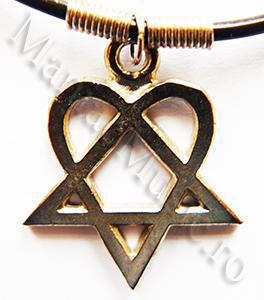 Medalion Heartagram 0